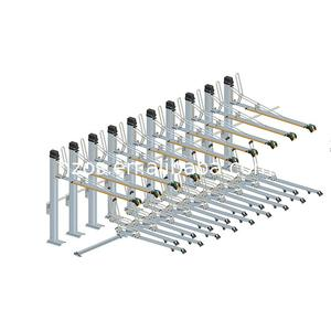 Factory Supply double tier bike storage rack/two layer bicycle rack