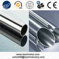 prime quality Welded pipe TP304 TP316L, Ends beveled heat treated to be used in a interchanger heater