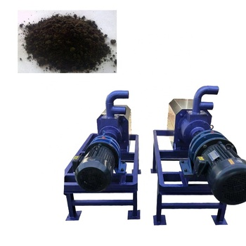 animal manure dehydrator  solid-liquid Dehydrator machine screw sludge dewatering machine
