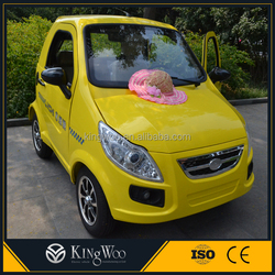Mini popular two seater 4 wheel electric car