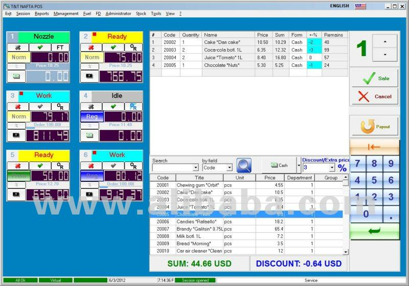 Software For Automation Of Petrol Stations