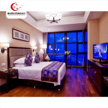 Modern wooden Hotel furniture, cheap hotel bedroom set