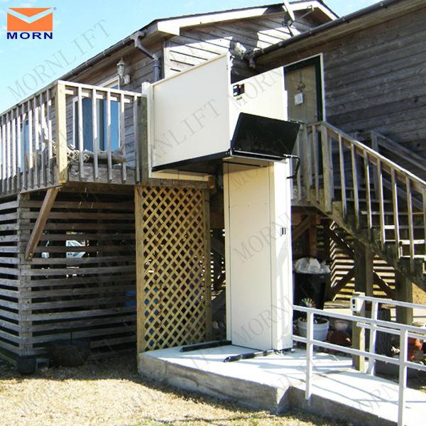 Indoor outdoor home elevator lift for disabled buy home for Indoor elevator