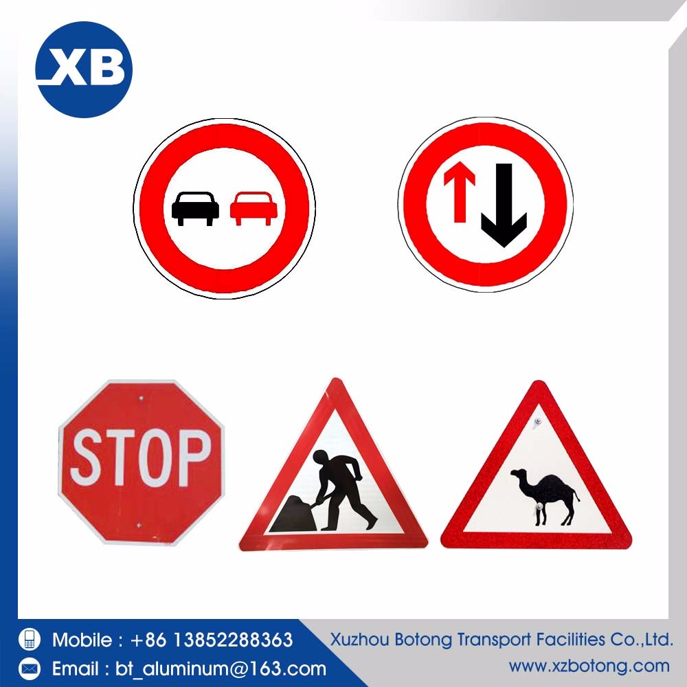Road safety traffic sign road sign safety reflective plate reflective traffic signs