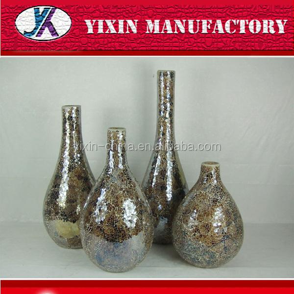 Different Types Murano Decoration Mosaic Glass Ikebana