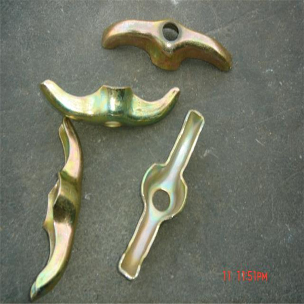 3 rib washer with plastic cone and hex nut for formtie system flat washer for plywood formwork form tie