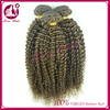 Kinky Curl Top quality 100% Full Cuticle Virgin Tight Curl Human Twisted Curl Weaving Hair Extensions