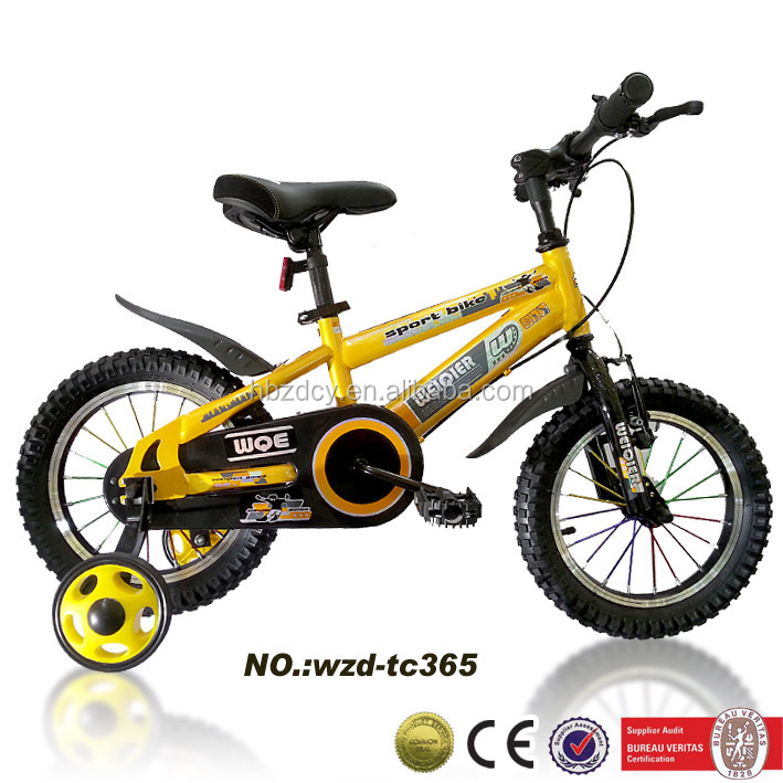 Custom Children Bike With Back Support Kids Cycles In China