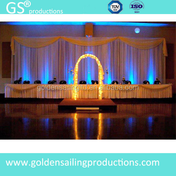 Event Wedding Aluminum Backdrop Stand Pipe And Drape For Sale