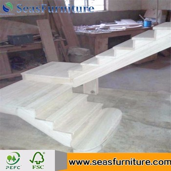 Stair Tread Wooden Solid Wood Stair Step