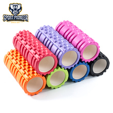 High Density Deep Tissue Massage Grid Foam Roller for Pilates