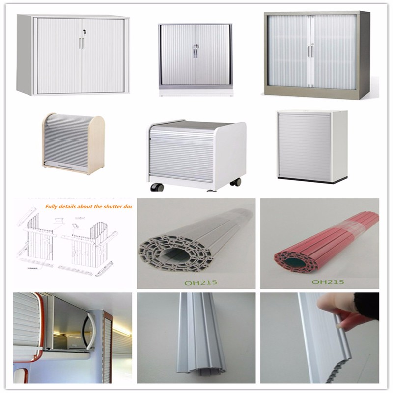 Filling Cabinet Cupboard Flexible Plastic Pvc Roller