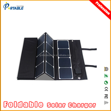 the lowest price portable foldable solar panel china 120w folding solar panel