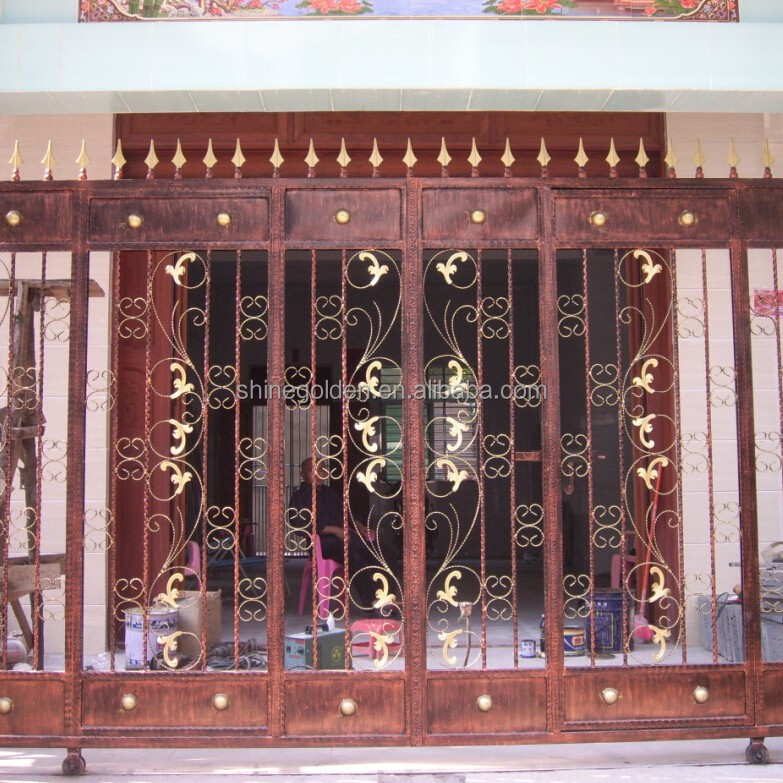 Lovely Indian House Main Gate Designs Main Gate Colors Sg 15g012   Buy Latest Main  Gate Designs,Latest Main Gate Designs,Indian House Gate Product On  Alibaba.com