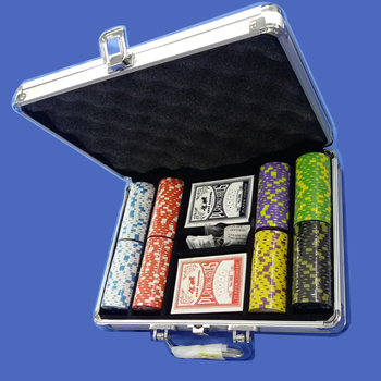500 poker chip set