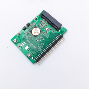 High quality mSATA SSD to 44Pin IDE Adapter as 2.5 Inch IDE HDD 5 Volt