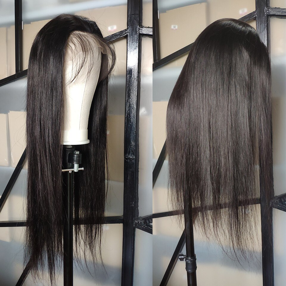 <strong>Cheap</strong> 130% Density 13*6 <strong>Lace</strong> <strong>Front</strong> <strong>Human</strong> <strong>Hair</strong> <strong>wigs</strong> Brazilian Remy <strong>Hair</strong> Mink Straight Wave <strong>Lace</strong> <strong>Wig</strong>