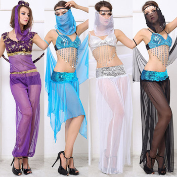 Hot Sexy Costumes Arabic Belly Dance For Women