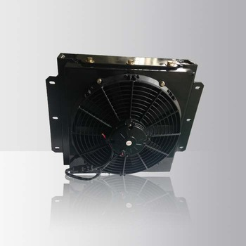 Air Cooled Hydraulic Oil Air Cooler With 12V Fan