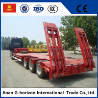 Cars Trucks matched low bed semi trailer for sale
