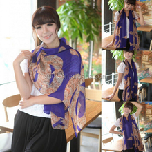 Hot selling best quality custom printed scarves for wholesale,ladies fashion scarves
