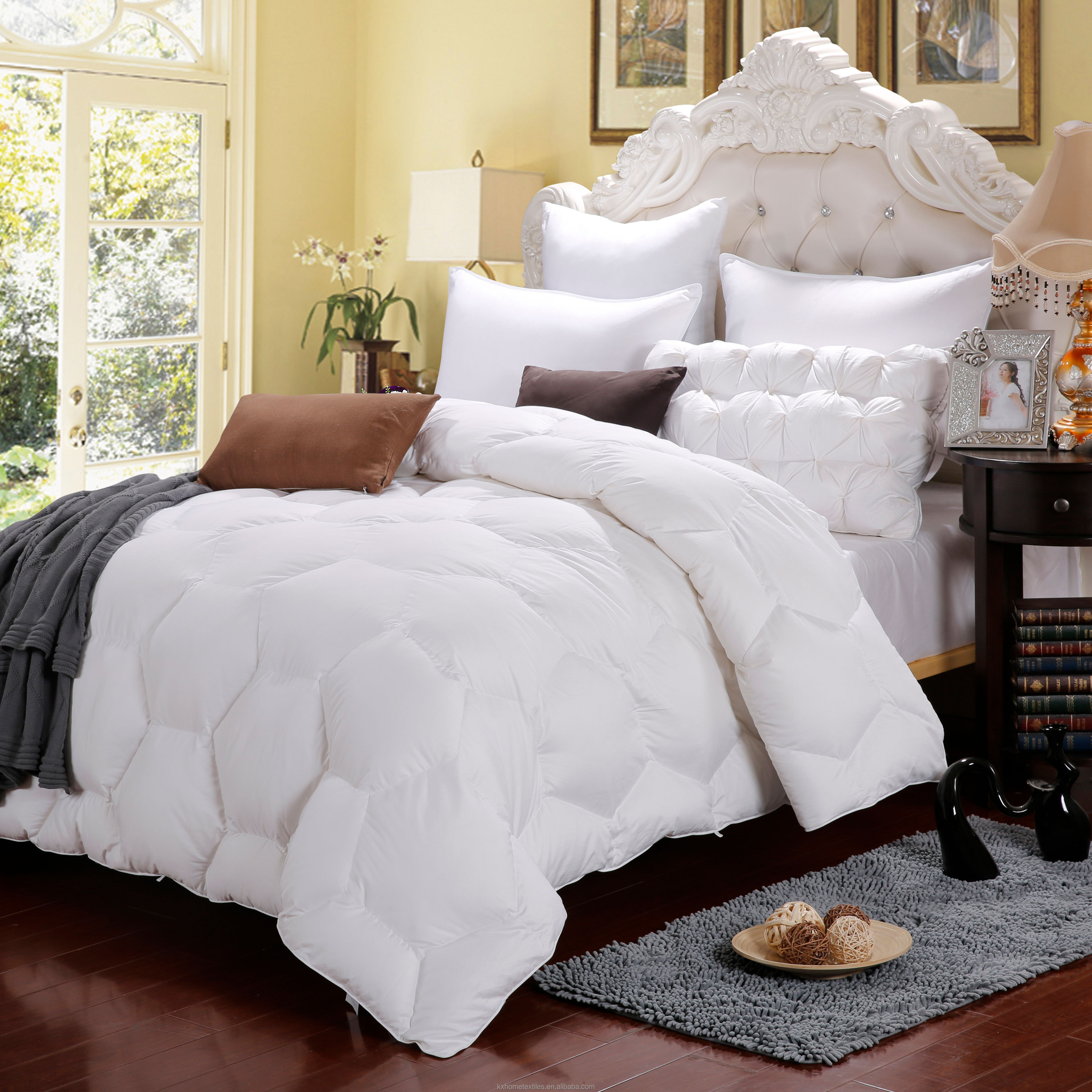 100% percent cotton comforter with natural cotton filling