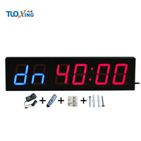 2018 Hot sale 6 digit 4 inch LED 220 volt timer