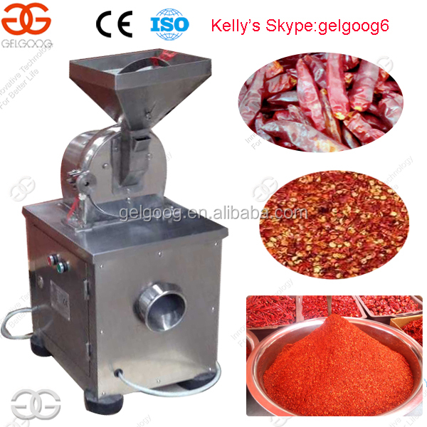 Spice Miller Garlic Grinder Coconut Shell Powder Processing Machine Price