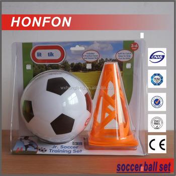 PVC soccer ball set toy ball with roadblock
