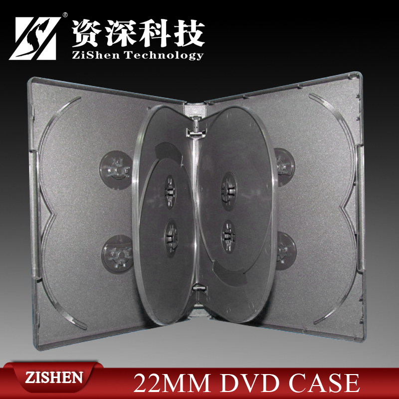 22Mm Multi Black Plastic Dvd Case