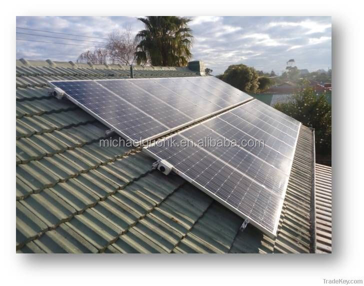 Off-grid solar system 1kw with adjustable battery capacity according to actual requirement