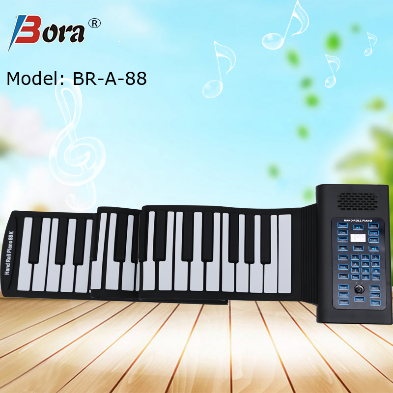 Bora new products 2017 innovative roll up electronic piano