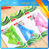 2015 made in china top sale stationery color diaphanous triangle rule for school