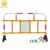 Durable Plastic Temporary PVC Crash Safety Crowd Control Barrier