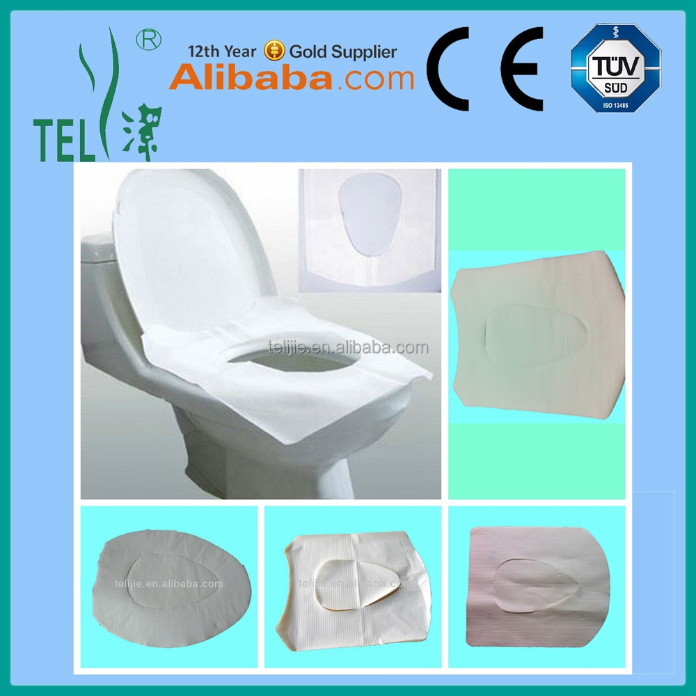 Disposable Toilet Hygiene Disposable Toilet Seat Cover Travel Pack For Hotel And