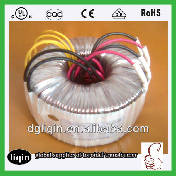 DC shielded transformer