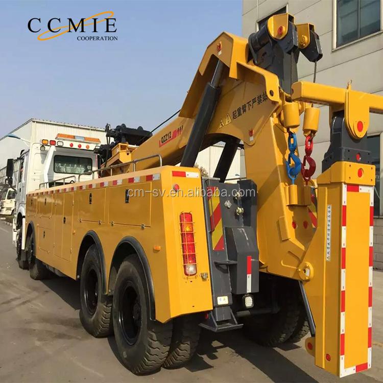 20-50 ton remote control rotataor tow truck wheel lift for sale in dubai