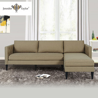 Living room furniture modern sectional sleeper couch sofa