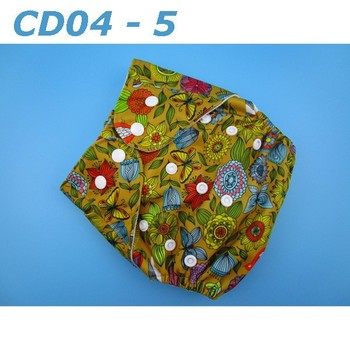 Top Quality Competitive Price Washable Printed Cartoon Cloth Diaper Baby Diaper Wholesale