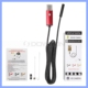 Red 1m 2m Cable 6 LED Android Micro USB Video Camera Endoscope 5.5mm 7mm 8mm Lens Waterproof Inspection Camera