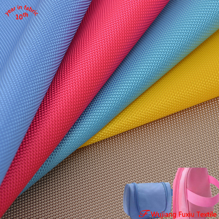 high quality PVC coated polyester oxford 1680D fabric for bag wujiang