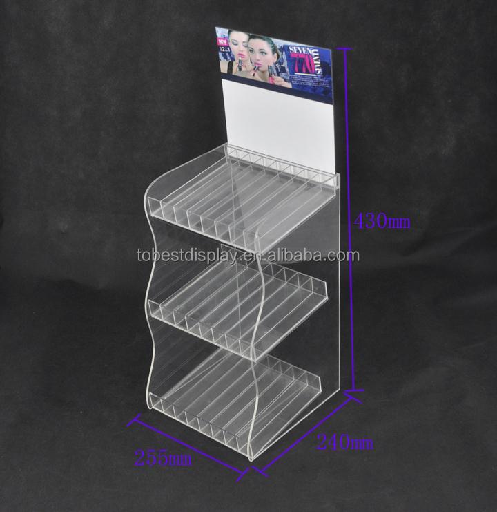 Acrylic Cosmeitc Display Stand,Eyelash Display Stand,Acrylic ...