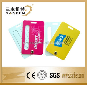 Travel name pvc business card size luggage tagairlines luggage tag travel name pvc business card size luggage tag airlines luggage tag hard plastic credit card reheart Image collections