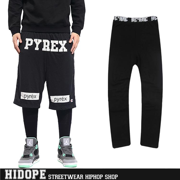Heybig Unisex black Leggings Sport Basketball Gym Workout ...