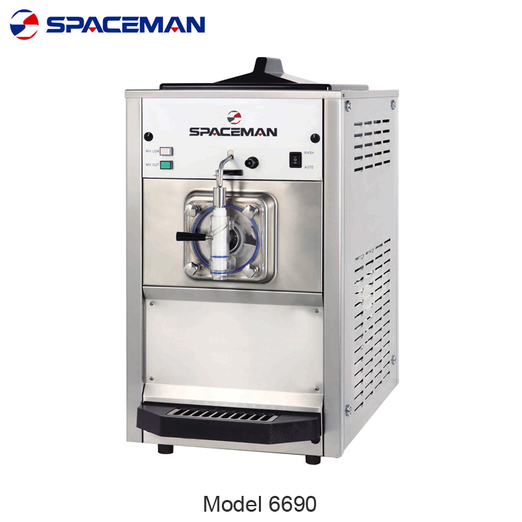 High capacity commercial slush machine 6690 commercial milkshake machine