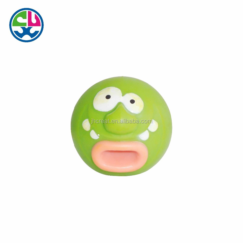 Promotional OEM wagging tongue vinyl toy vent toy for kids