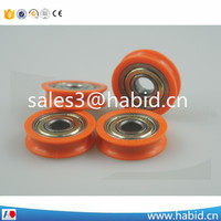 Hot sale pulley puller hanging rolle set ball bearing wheel