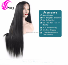 Aliexpress wholesale 100% Body Wave Jewish Kosher Human Hair lace front Wig