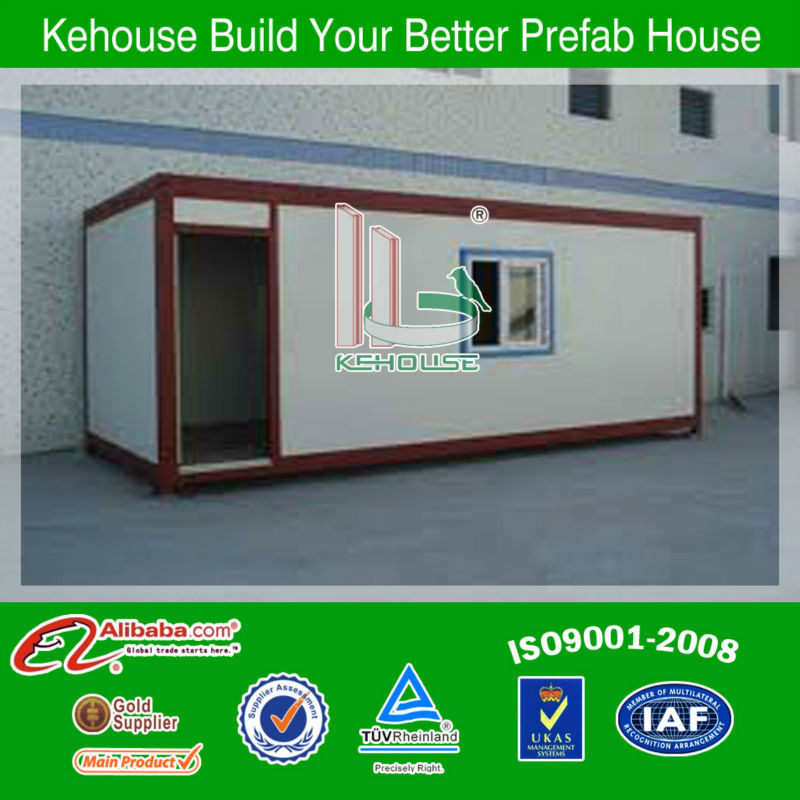 Chinese TUV certificated EPS container building prefabs