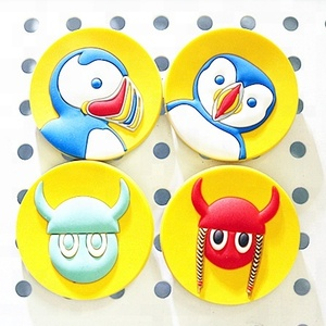 wholesale cheap custom 2d soft pvc cartoon rubber fridge magnet set custom refrigerator magnet